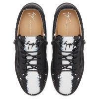FRANKIE - Noir - Sneakers basses