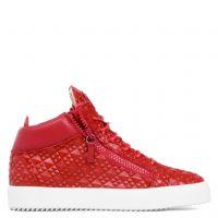 KRISS - Rouge - Sneakers montante
