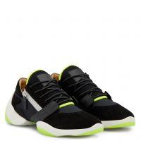 SUEDE JUMP - Black - Low top sneakers