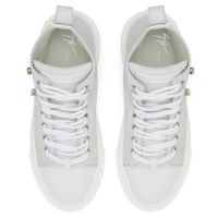 BLABBER LUNAR - White - Mid top sneakers