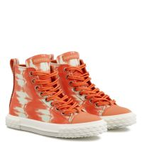 BLABBER - Orange - Sneakers hautes