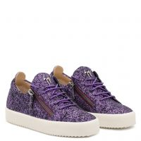 CHERYL GLITTER - Purple - Low top sneakers