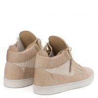 JAMIE HIGH - Beige - Mid top sneakers