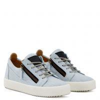 BLUE FRANKIE - Blue - Low top sneakers