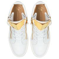 KRISS STEEL - White - Mid top sneakers