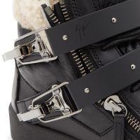 SKYLAR - Black - High top sneakers