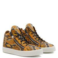 KRISS - Orange - Mid top sneakers