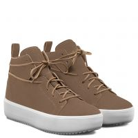 ALLEN - Brown - Mid top sneakers
