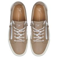 FRANKIE - Beige - Low top sneakers