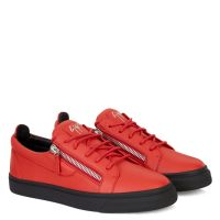 FRANKIE - Red - Low top sneakers
