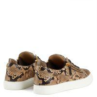 FRANKIE - Beige - Low top sneakers