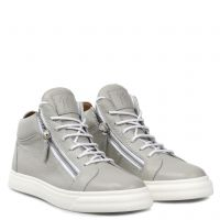 NICKI - Grey - Mid top sneakers