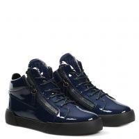 KRISS - Bleu - Sneakers montante