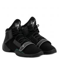 LIGHT JUMP MT1 - Nero - Sneaker mid top