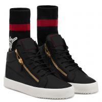 KRISS PLUS - Nero - Sneaker mid top