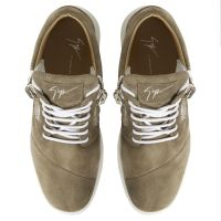 HAYDEN - Grey - Mid top sneakers