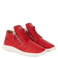HAYDEN - Red - Mid top sneakers
