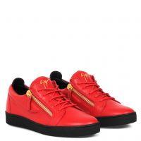 FRANKIE - Rouge - Sneakers basses