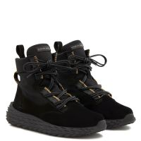 URCHIN - Black - Mid top sneakers