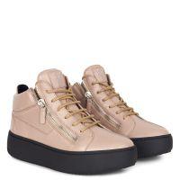 KRISS - Brown - Mid top sneakers