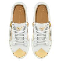 GAIL STEEL - White - Low top sneakers