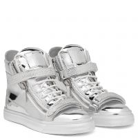 TRIX - Silver - High top sneakers