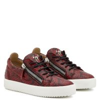 GAIL PYTHON - Red - Low top sneakers