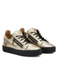 GAIL GOLD - Silver - Low top sneakers