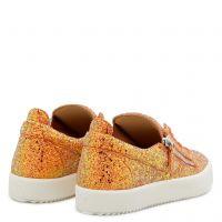 GAIL GLITTER - Orange - Low top sneakers