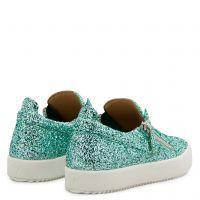 GAIL GLITTER - Green - Low top sneakers