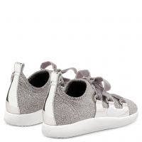 MAGGIE - Silver - Low top sneakers