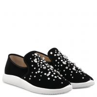 THE DAZZLING KIM - Nero - Slip On