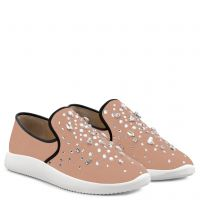 THE DAZZLING KIM - Rose - Slip On