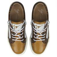 NICKI - Yellow - Low top sneakers