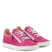 NICKI - Fuxia - Low top sneakers