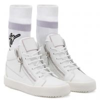 KRISS PLUS - Bianco - Sneaker mid top
