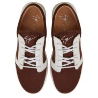 CORY - Brown - Low top sneakers