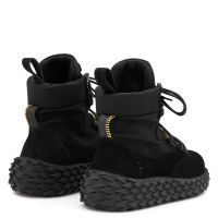 URCHIN - Nero - Sneaker mid top