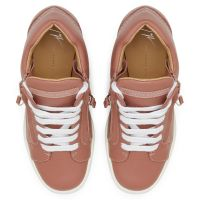 ADDY  WEDGE - Pink - High top sneakers