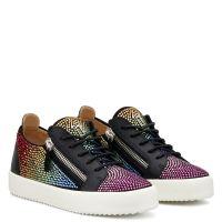 DORIS  COLOR - Black - Low top sneakers