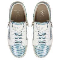 NICKI - Blue - Low top sneakers