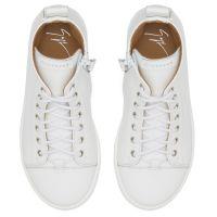 MATTIA - White - Mid top sneakers