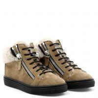 KRISS - Beige - Mid top sneakers