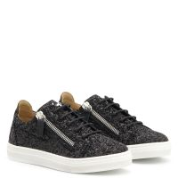 CHERYL GLITTER JR. - Black - Low top sneakers