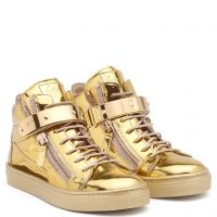 VEGAS - Gold - Mid top sneakers