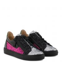GAIL JR. - Silver - Low top sneakers