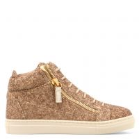 KRISS JR. - Brown - Mid top sneakers