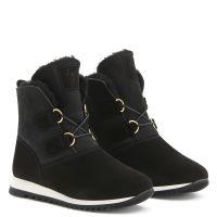 ALISSA - Black - High top sneakers