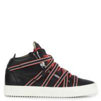 FRANKIE BANDS - Black - Mid top sneakers