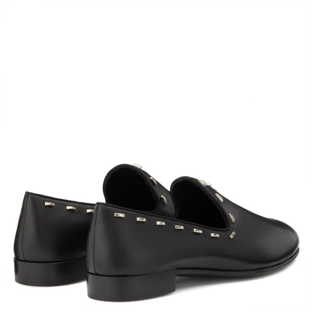 GORDON FLASH - Black - Loafers